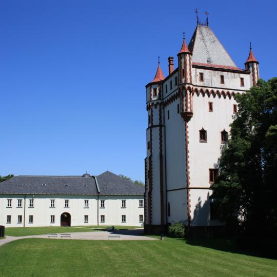 Návštěvnická sezóna zámku 1